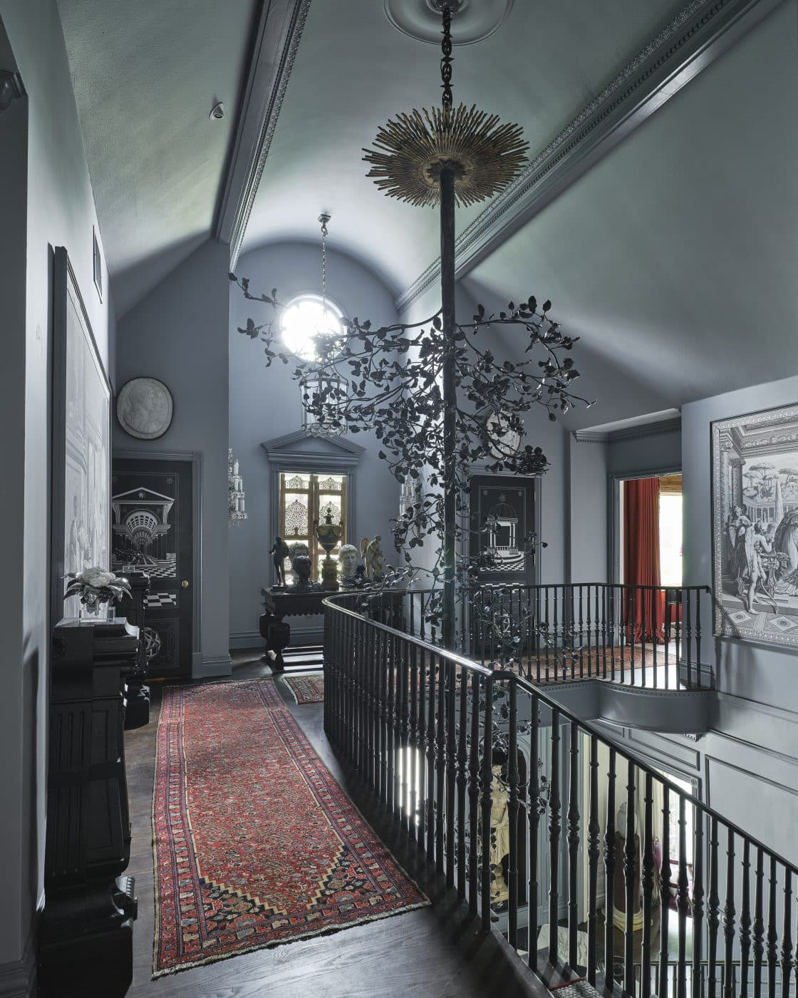 Hallway designed by Bobbit and Company