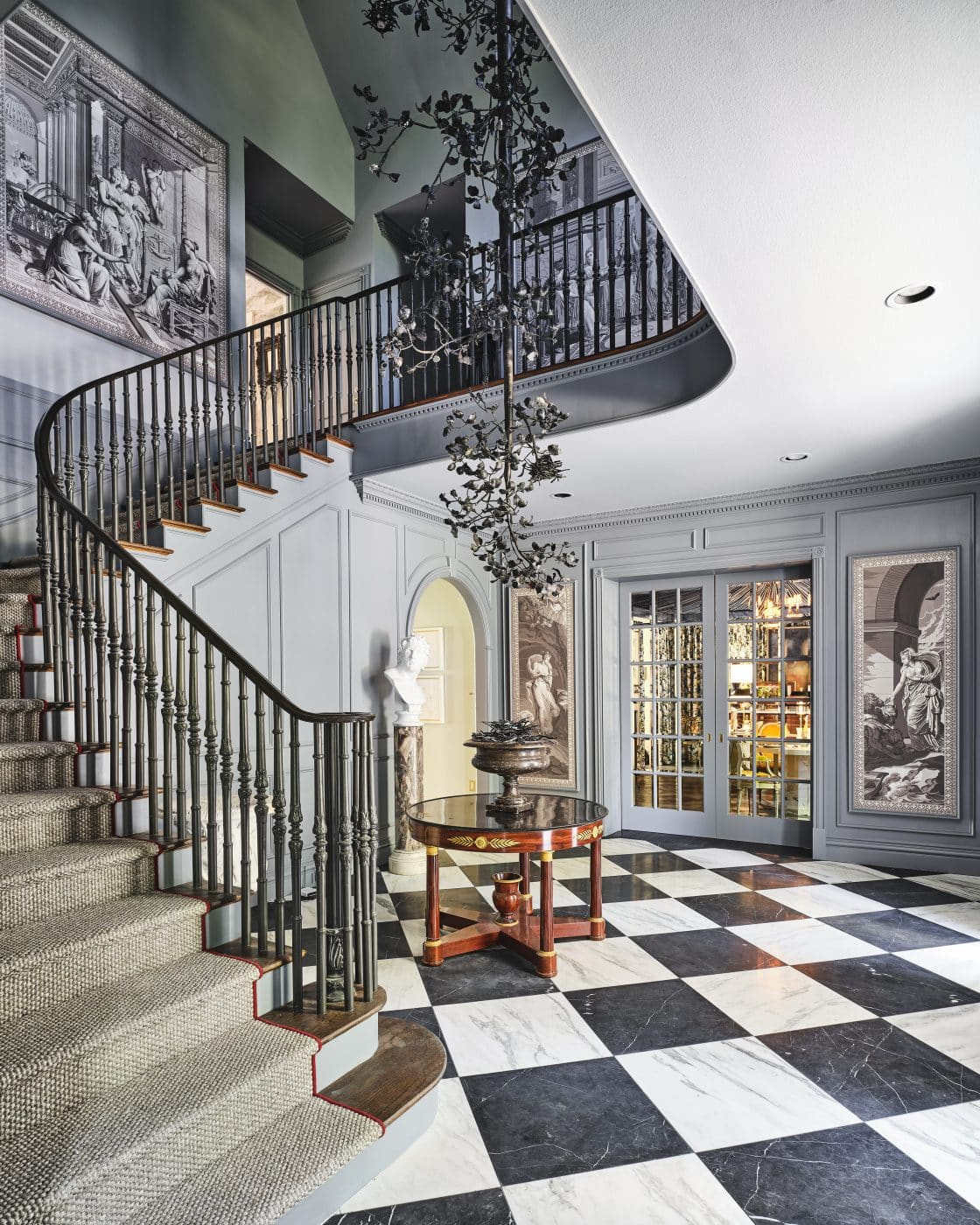 Foyer designed by Bobbit and Company