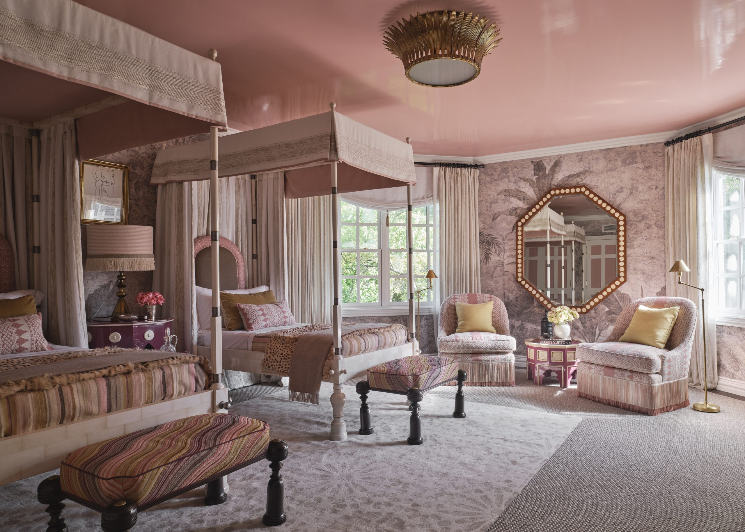 Guest Bedroom designed by Martyn Lawrence Bullard