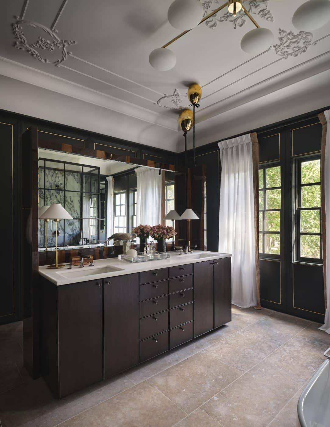 Bathroom designed by Brant McFarlain