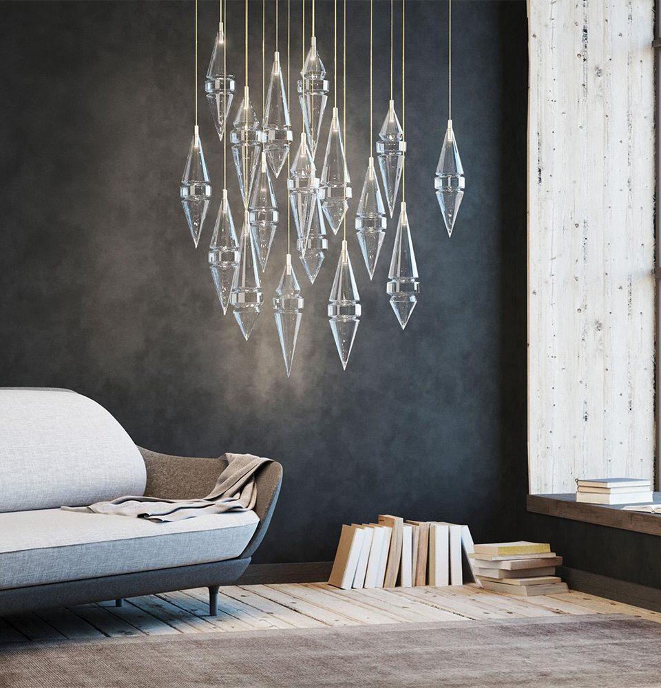 In London, Eva Menz Creates Artisanal Lighting with Theatrical Flair