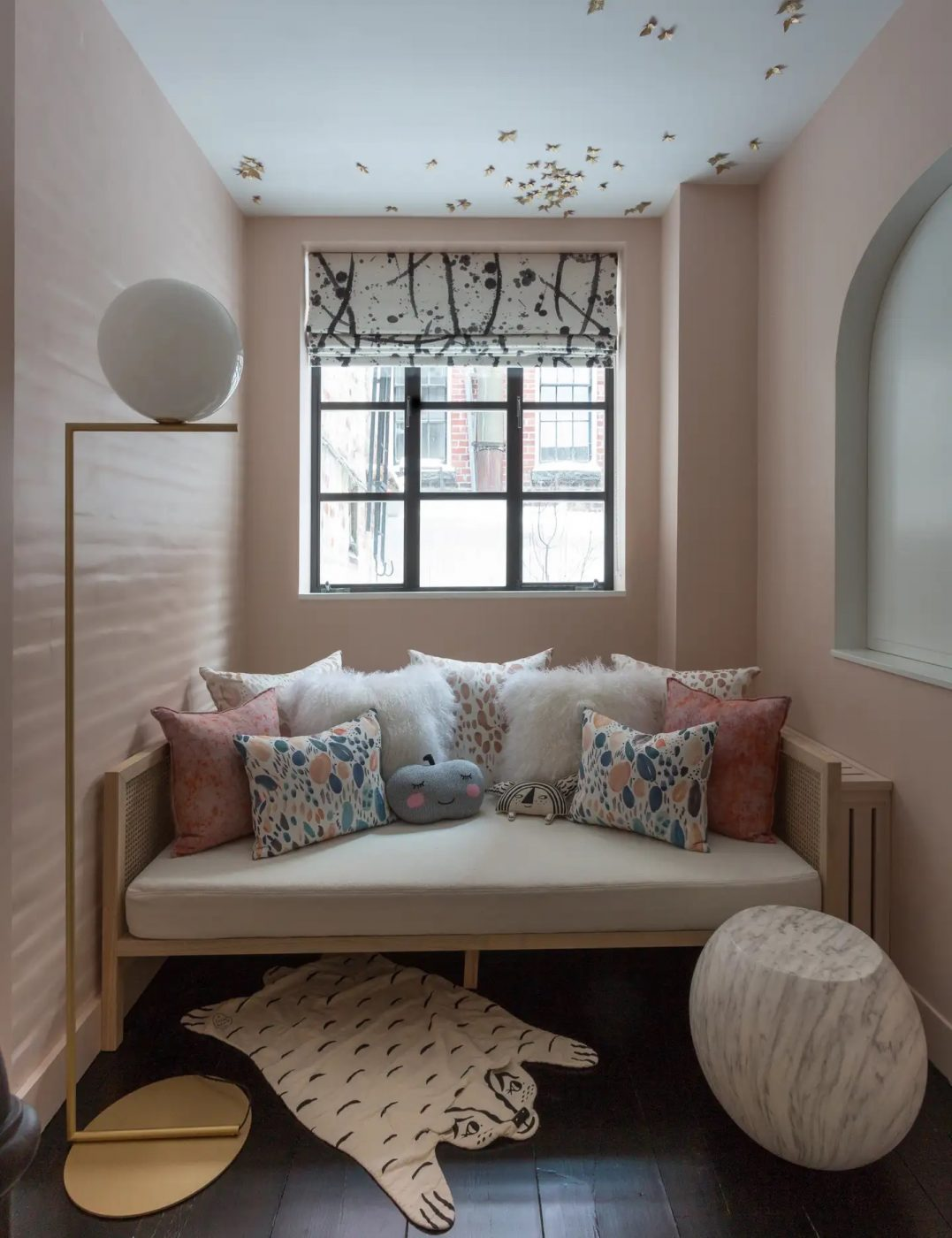 Corner of a West Village Pied-a-Terre designed by Harris