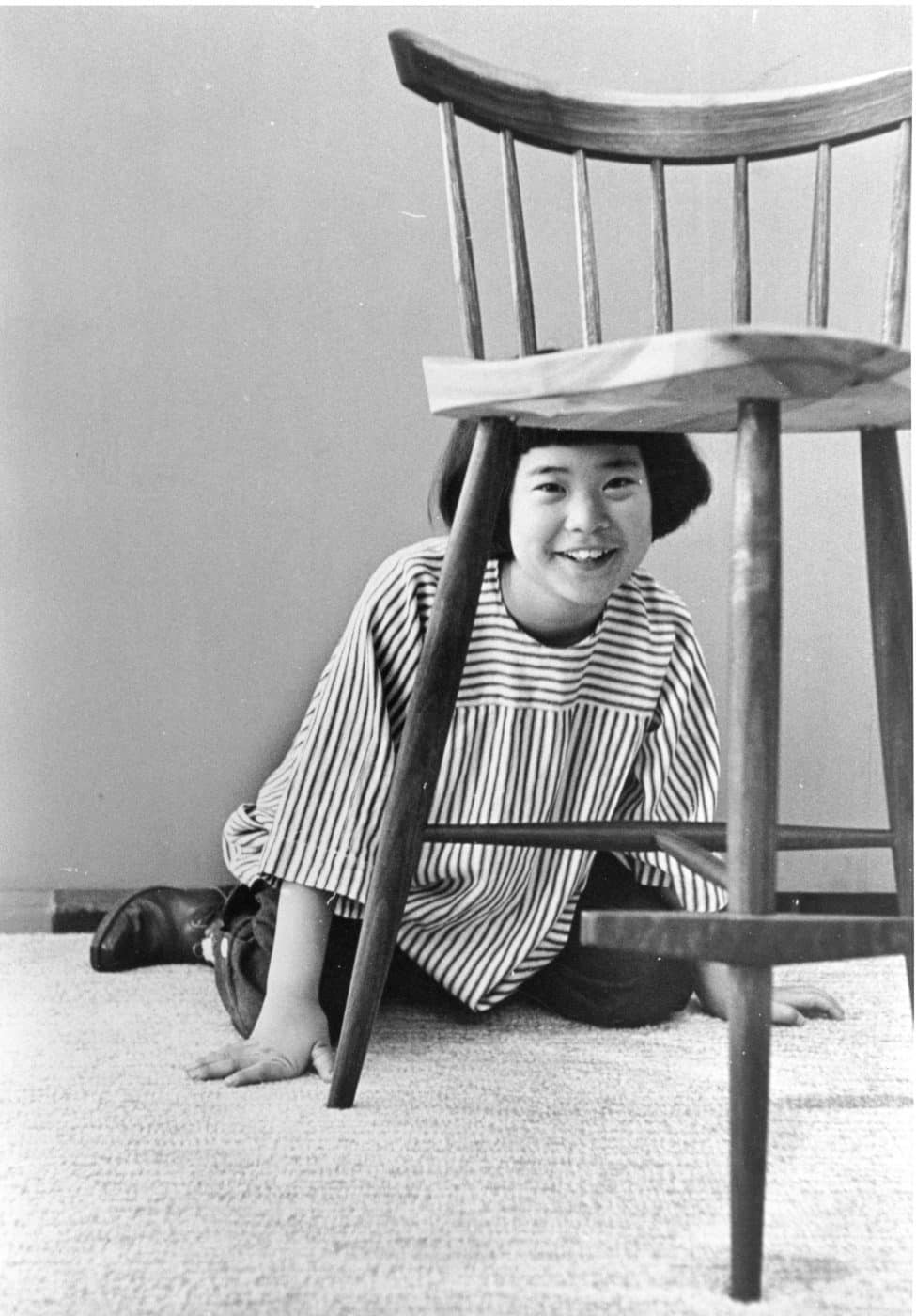 Mira with her namesake chair featured in Look magazine in 1952